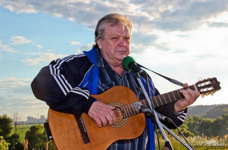 Первый фестиваль бардовской песни в селе Козино в 2012 году