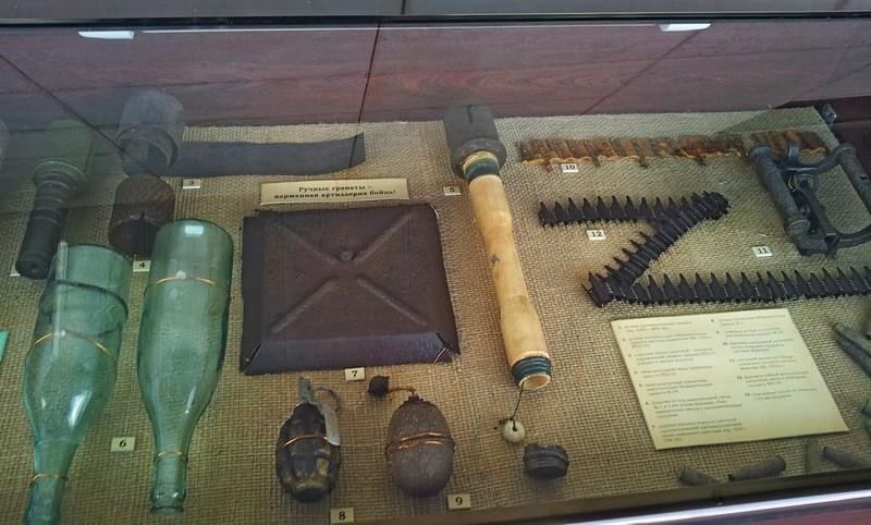 Интерактивная выставка оружия, посвященная Дню памяти и скорби.
