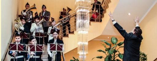 Фестиваль духовых оркестров в г. Истра