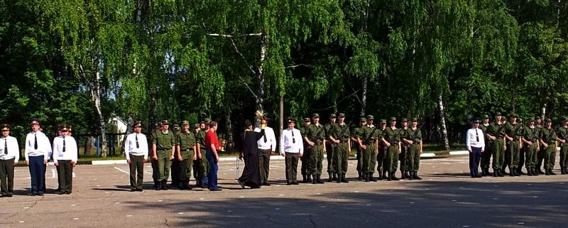 Шефская помощь Российской армии