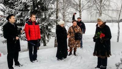 Автопробег по местам боевой славы сельского поселения Ершовское. 6