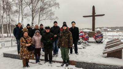 Автопробег по местам боевой славы сельского поселения Ершовское. 16