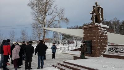 Автопробег по местам боевой славы сельского поселения Ершовское. 17