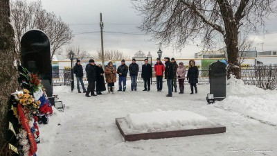 Автопробег по местам боевой славы сельского поселения Ершовское. 19