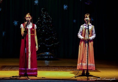 Новогодняя феерия в Саввинской Слободе 2