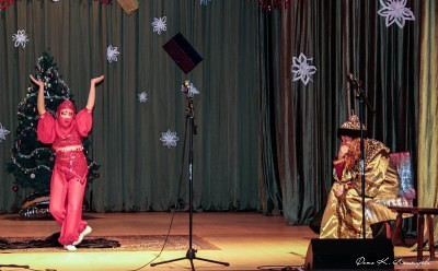 Новогодняя феерия в Саввинской Слободе 10