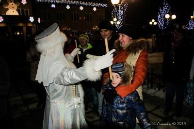 Новогодняя ночь в Ершово 3