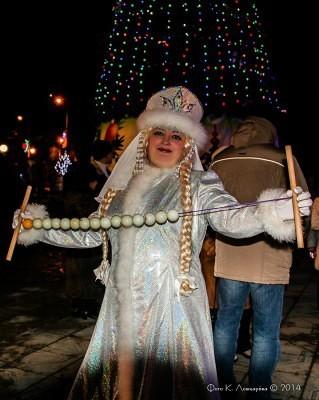 Новогодняя ночь в Ершово 5