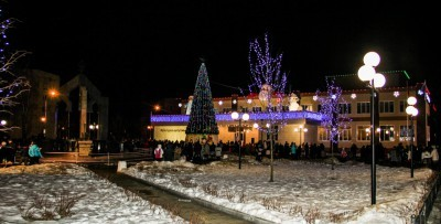 Новогодняя ночь в Ершово 6