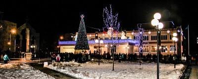 Новогодняя ночь в Ершово 1