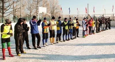 Футбол на снегу 13