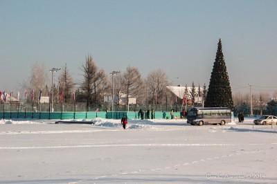 Футбол на снегу 8