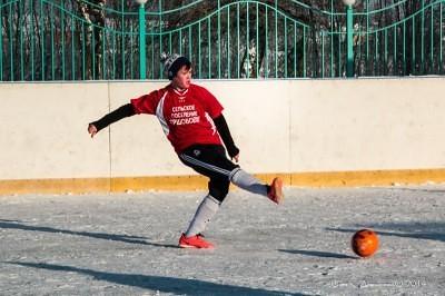 Футбол на снегу 11