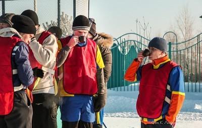 Футбол на снегу 12