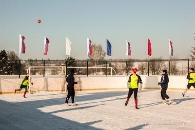 Футбол на снегу 17