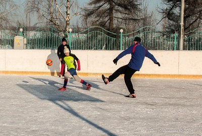 Футбол на снегу 19