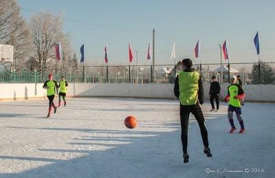 Футбол на снегу 23