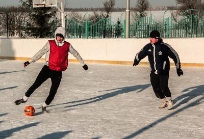 Футбол на снегу 27