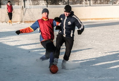 Футбол на снегу 28