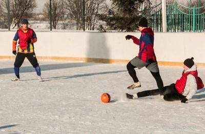 Футбол на снегу 29