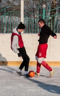 Футбол на снегу 31