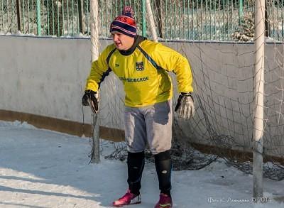 Футбол на снегу 34