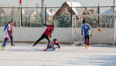 Футбол на снегу 42