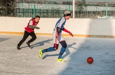 Футбол на снегу 49