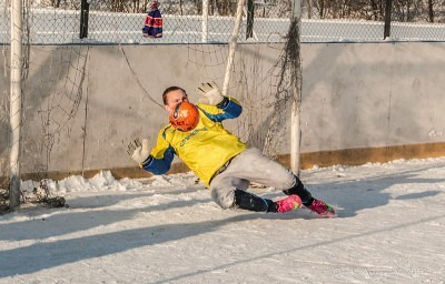 Футбол на снегу 52