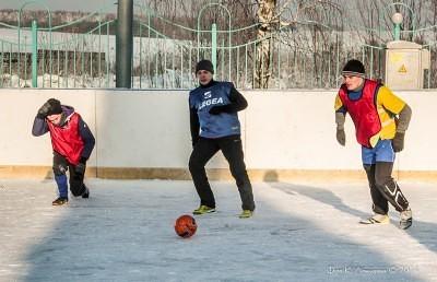Футбол на снегу 53