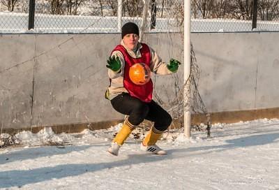 Футбол на снегу 54