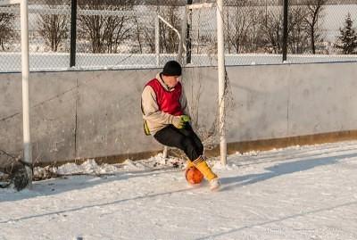 Футбол на снегу 57