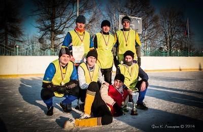 Футбол на снегу 69
