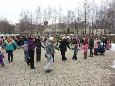Широкая Масленица в Каринском. 3