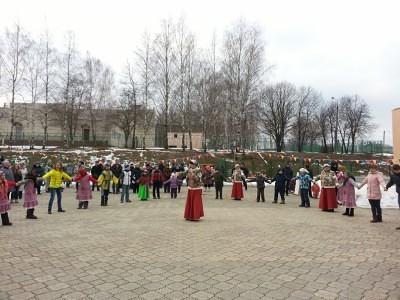 Широкая Масленица в Каринском. 4