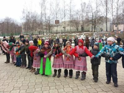 Широкая Масленица в Каринском. 7
