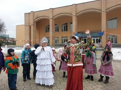 Широкая Масленица в Каринском. 12