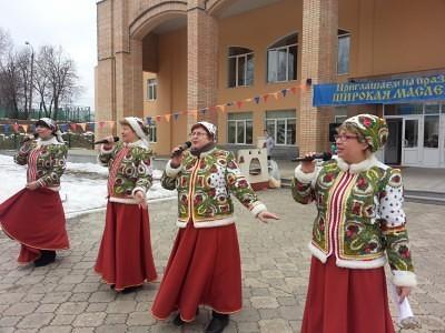 Широкая Масленица в Каринском. 13