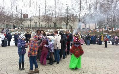 Широкая Масленица в Каринском. 14