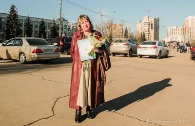День работника культуры в г. Одинцово. 2014 год. 17