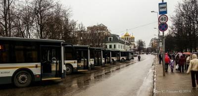 Губернатор Подмосковья в г. Звенигороде 1