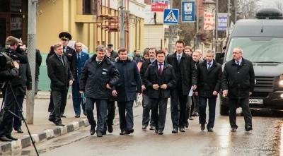 Губернатор Подмосковья в г. Звенигороде 3