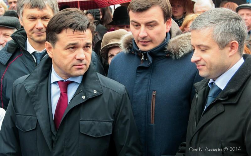Губернатор Подмосковья в г. Звенигороде