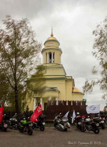 Московские байкеры в сельском поселении Ершовское. 10