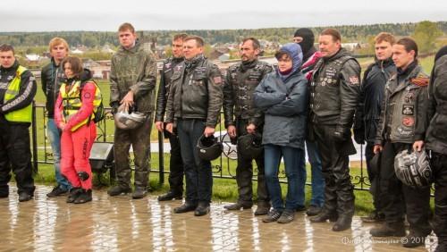 Московские байкеры в сельском поселении Ершовское. 16
