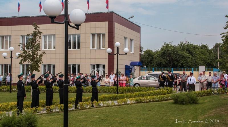 Церемония открытия стелы памяти, посвященной памяти российских воинов, погибших в Первой мировой войне. Фоторепортаж 17