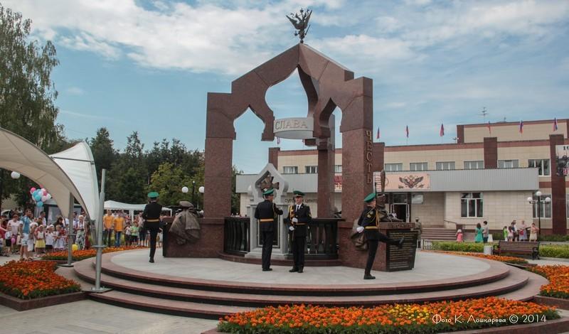 Церемония открытия стелы памяти, посвященной памяти российских воинов, погибших в Первой мировой войне. Фоторепортаж 18