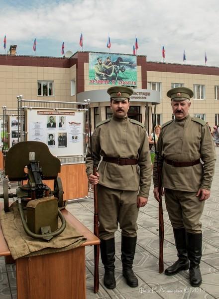 Церемония открытия стелы памяти, посвященной памяти российских воинов, погибших в Первой мировой войне. Фоторепортаж 22