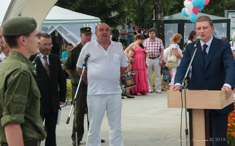 Церемония открытия стелы памяти, посвященной памяти российских воинов, погибших в Первой мировой войне. Фоторепортаж 24