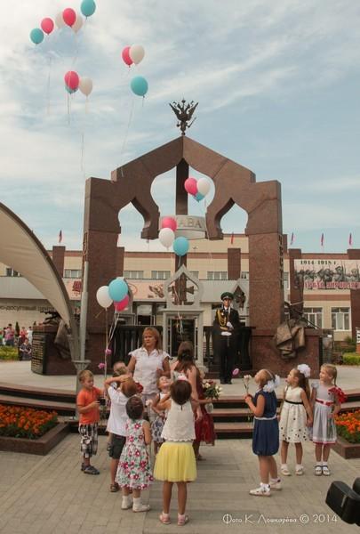 Церемония открытия стелы памяти, посвященной памяти российских воинов, погибших в Первой мировой войне. Фоторепортаж 29